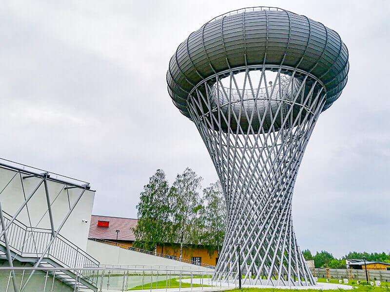 Park Nauki Torus - Wieża Ciśnień w Ciechanowie