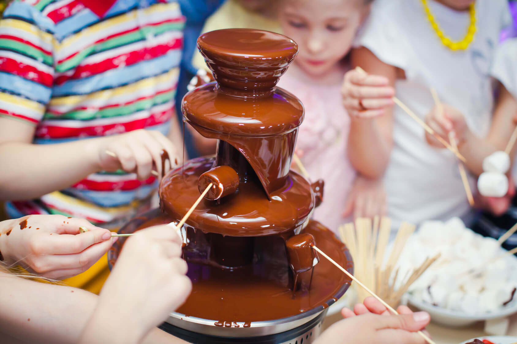 Fontanna z czekolady Ciechanów