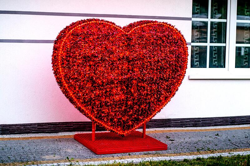 Świecące serce
