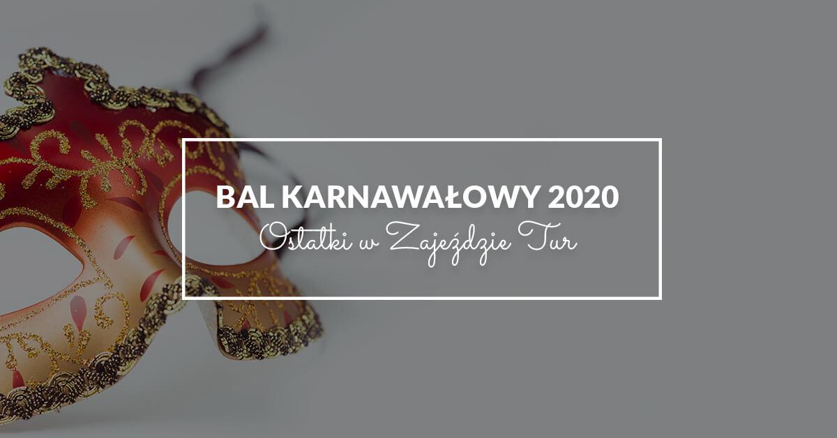 Bal Karnawałowy 2020 Ciechanów